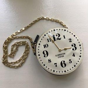 Kate Spade clock crossbody